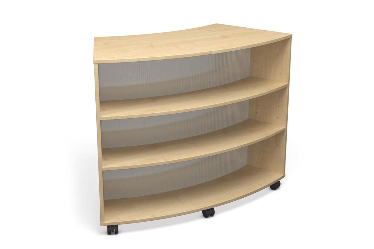Curved Mobile Library Bay
