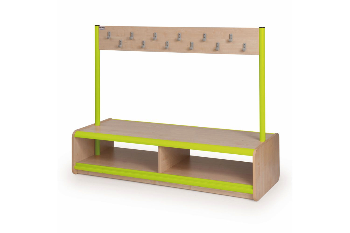 Static Double Sided Bench 24 Hooks